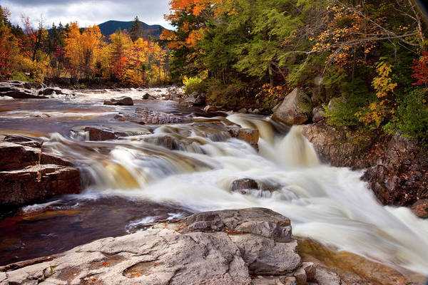 New Hampshire Photograph - Swift River Rapids Along Kancamagus by Danita Delimont