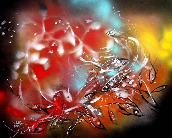 Painting - Swim by J Vincent Scarpace
