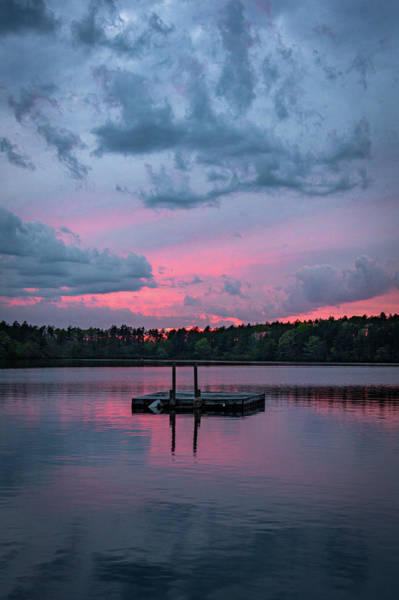 Cachalot Wall Art - Photograph - Swimmer's Raft Sunset by Dennis Wilkinson