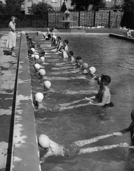 Teaching Photograph - Swimming Lesson by Fred Morley