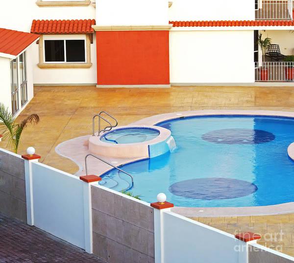 Wall Art - Photograph - Swimming Pool by Photomatz