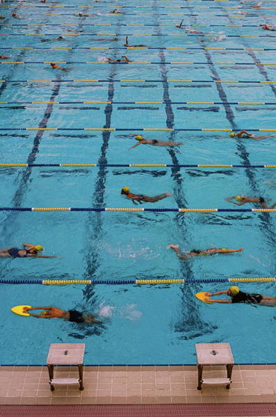 Practice Photograph - Swimming Pool by Photos By Eric Luff Li