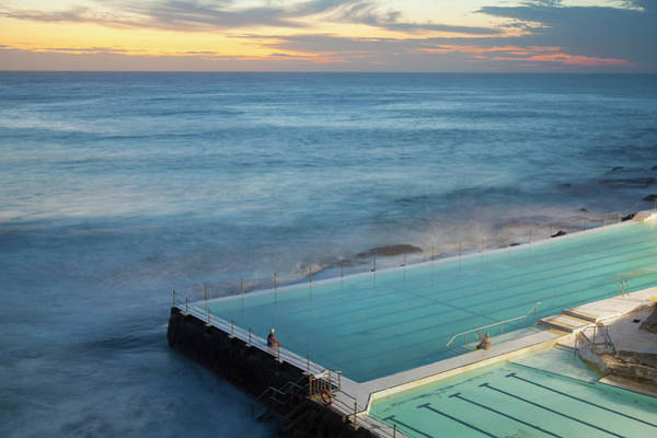 Australia Photograph - Swimming Pools At Bondi Beach, Before by Kathrin Ziegler