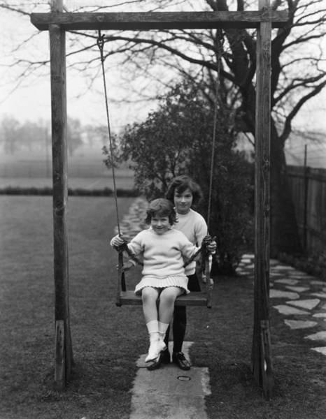 Parent Photograph - Swing Fun by Sasha