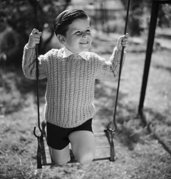 Sweater Photograph - Swing High by Chaloner Woods
