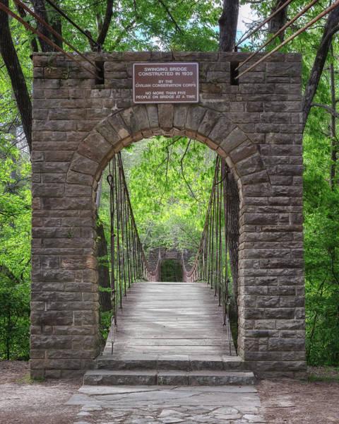 Photograph - Swinging Bridge At Tishomingo State Park by Susan Rissi Tregoning