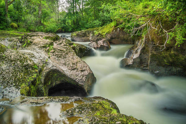 Photograph - Swirling Waters At Buchanty Spout, Scotland by Alan Campbell