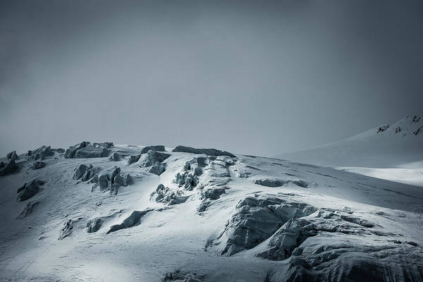 Crevasses Photograph - Swiss Alps by Andre Schoenherr