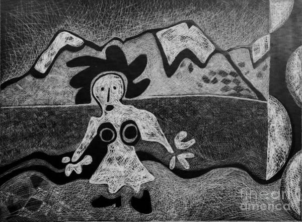 Drawing - Swiss Miss by Cindy Suter