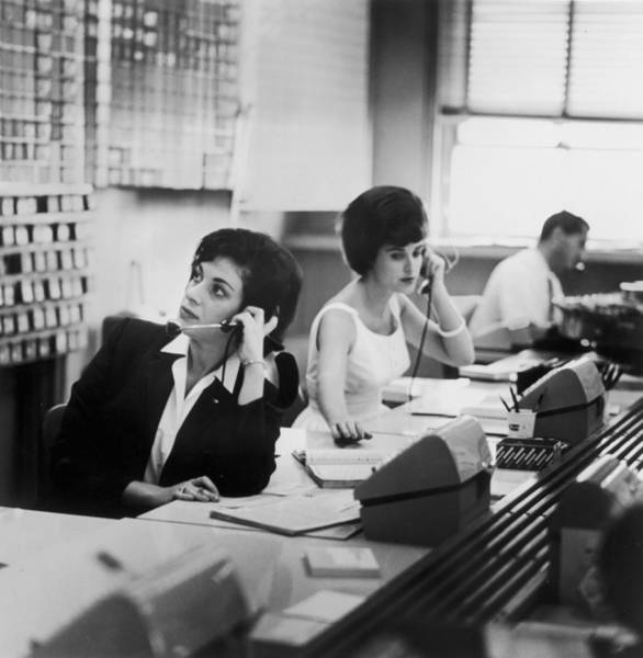 Telephone Photograph - Switchboard by Archive Photos