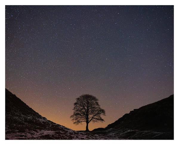 Astro Photograph - Sycamore Gap  by Mark Mc neill