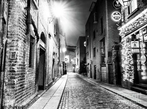 Wall Art - Photograph - Sycamore Street At Night In Dublin by John Rizzuto