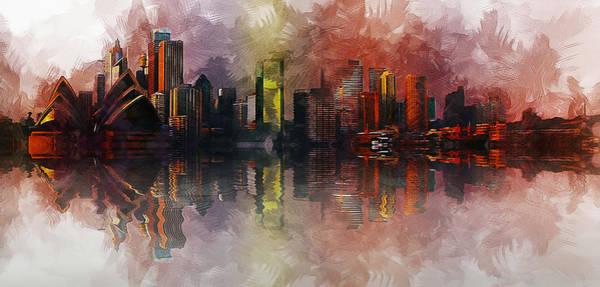 Painting - Sydney Australia by Ian Mitchell