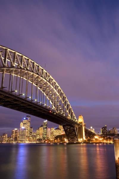 Land Mark Photograph - Sydney Harbour Bridge by Felixr