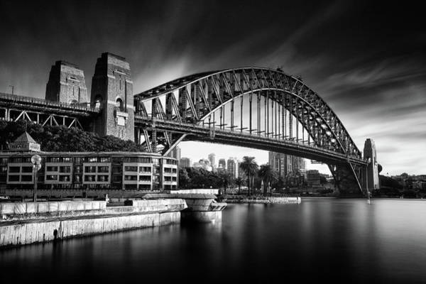 Wall Art - Photograph - Sydney Harbour Bridge by Noval Nugraha Photography. All Rights Reserved.