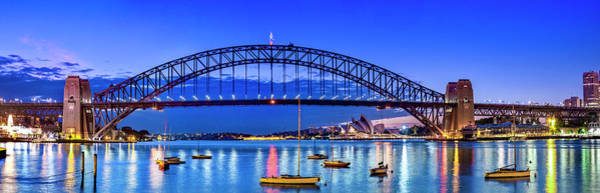 Wall Art - Photograph - Sydney Harbour Brilliance by Sean Davey