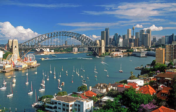 Australia Photograph - Sydney Harbour, Lavender Bay by Chad Ehlers