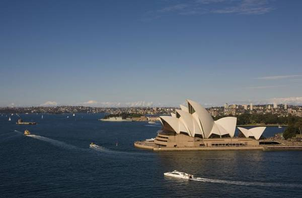 Southern Hemisphere Wall Art - Photograph - Sydney Opera House A Top Tourist by George Rose