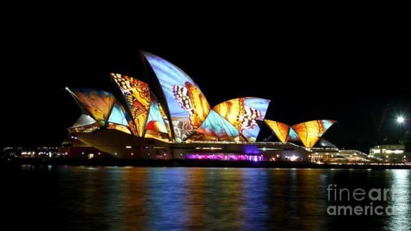 Digital Art - Sydney Opera House  by Michael Graham