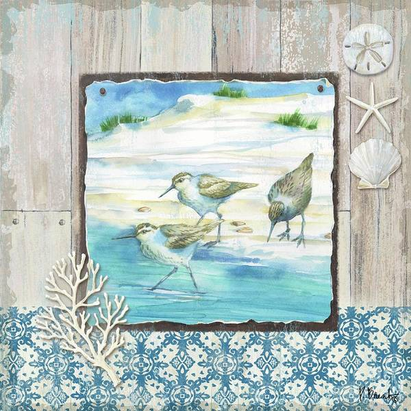 Wall Art - Painting - Sydney Sandpipers II by Paul Brent