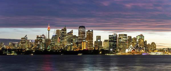 Photograph - Sydney Skyline by Francesco Riccardo Iacomino