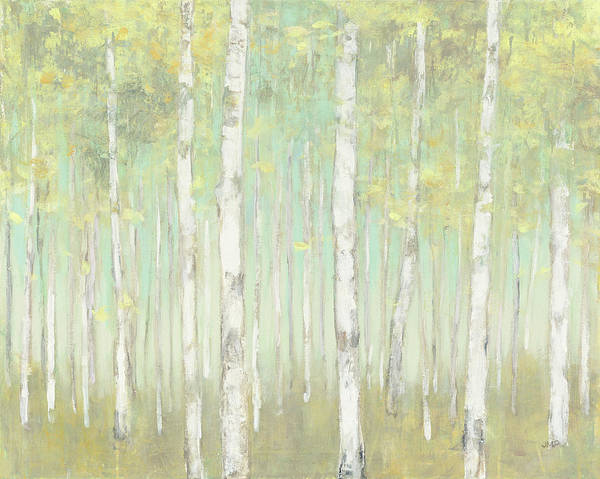 Wall Art - Painting - Sylvan Birches by Julia Purinton