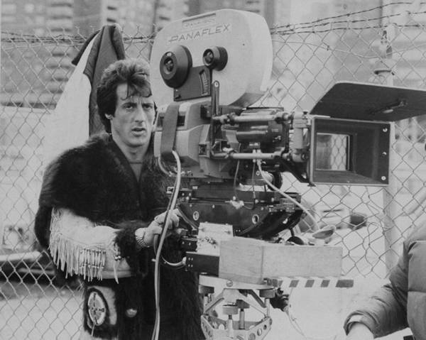 Wall Art - Photograph - Sylvester Stallone Directing The Film by New York Daily News Archive