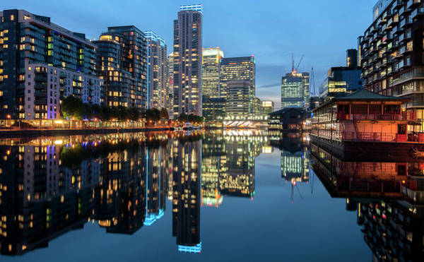 Canary Wharf Photograph - Symmetry Of Wealth by Jaymarks Images