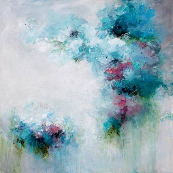 Wall Art - Painting - Symphony In Blue by Karen Hale