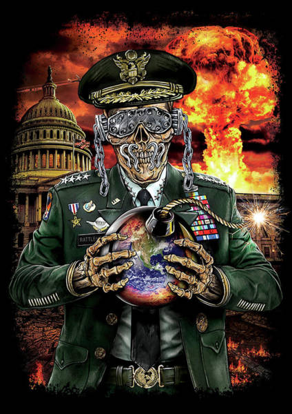 Megadeth Wall Art - Digital Art - Symphony Of Destruction by Mike Hrubovcak