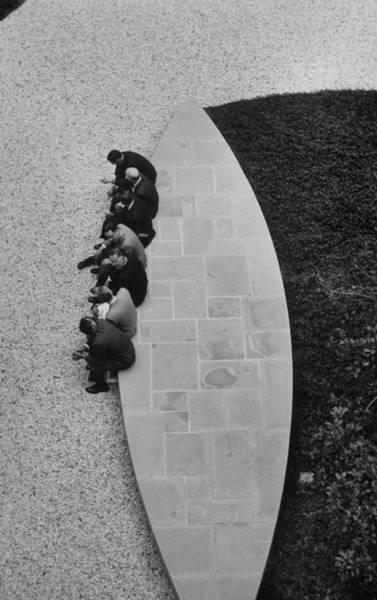 Insurance Photograph - Symposium At Conn. General Insurance Co- by Nina Leen
