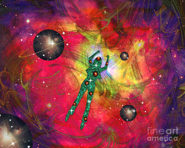 Mixed Media - Synchronicity by Diamante Lavendar
