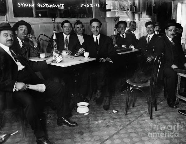 Photograph - Syrian Restaurant, C1912 by Granger