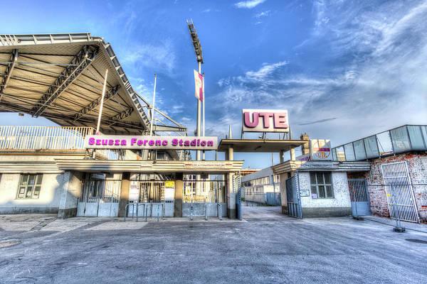 Wall Art - Photograph - Szusza Ferenc Stadion Budapest by David Pyatt