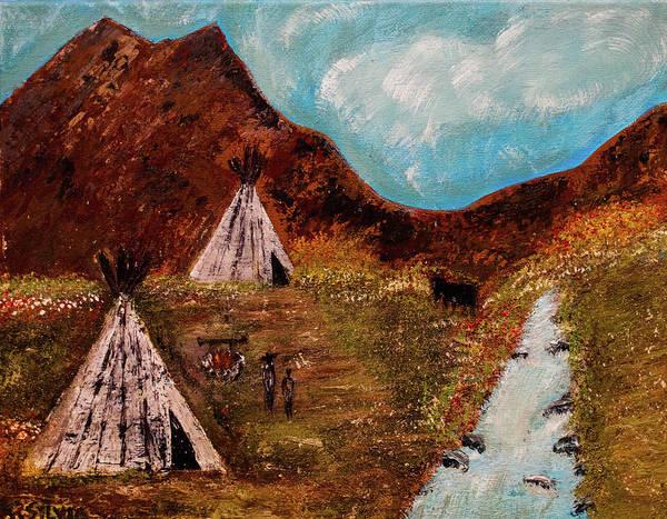 Painting - T- Pee by Randy Sylvia