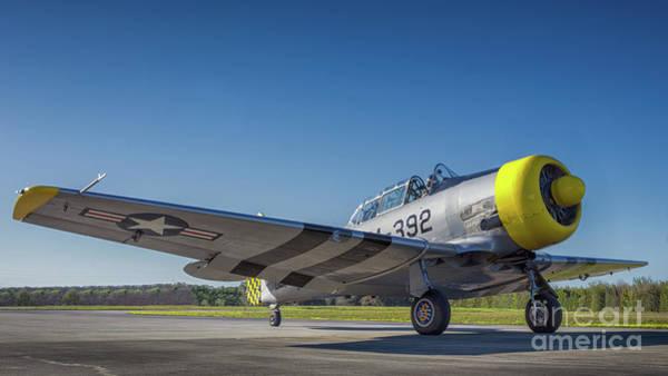 Harvard Propeller Photograph - T6  by Gary Stray