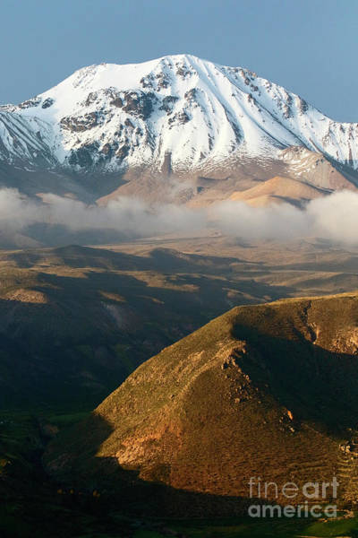 Photograph - Taapaca Volcano Putre Chile by James Brunker