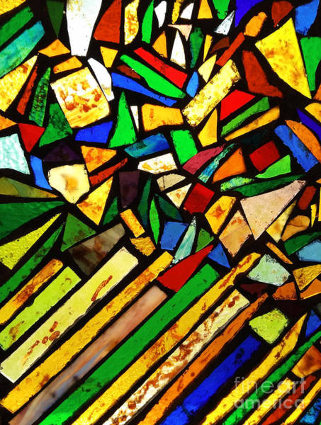 Photograph - Tabernacle Baptist Church Stained Glass I  by Robert Knight