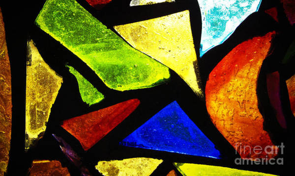 Photograph - Tabernacle Baptist Church Stained Glass IIi by Robert Knight