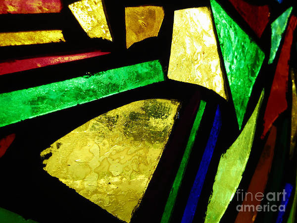 Photograph - Tabernacle Baptist Church Stained Glass Iv  by Robert Knight