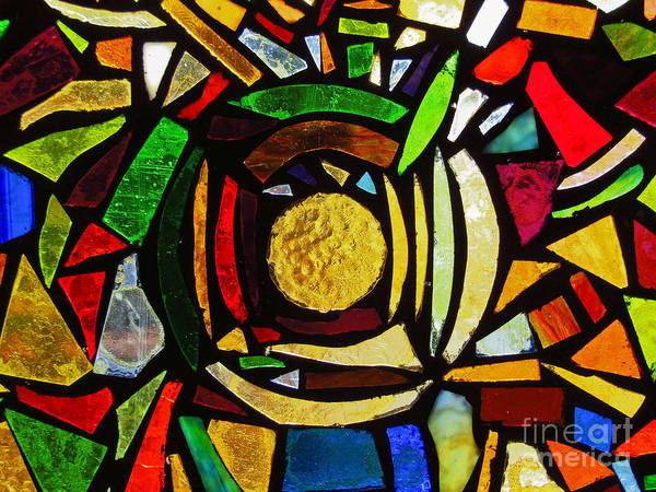 Photograph - Tabernacle Baptist Church Stained Glass Ix by Robert Knight