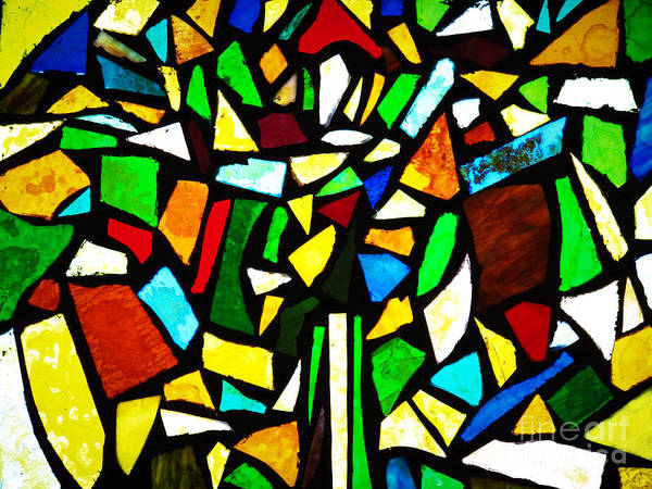 Photograph - Tabernacle Baptist Church Stained Glass Vi  by Robert Knight