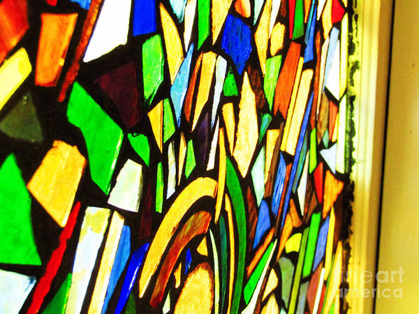 Photograph - Tabernacle Baptist Church Stained Glass Vii  by Robert Knight