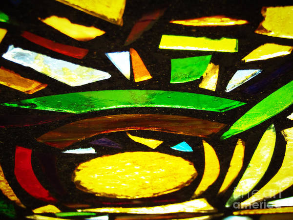 Photograph - Tabernacle Baptist Church Stained Glass Viii by Robert Knight