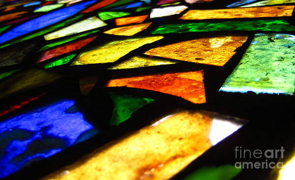 Photograph - Tabernacle Baptist Church Stained Glass Xiii by Robert Knight