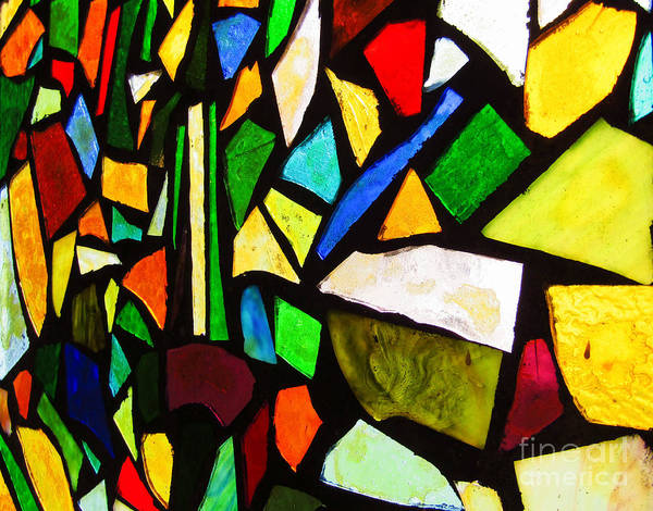 Photograph - Tabernacle Baptist Church Stained Glass Xiv  by Robert Knight