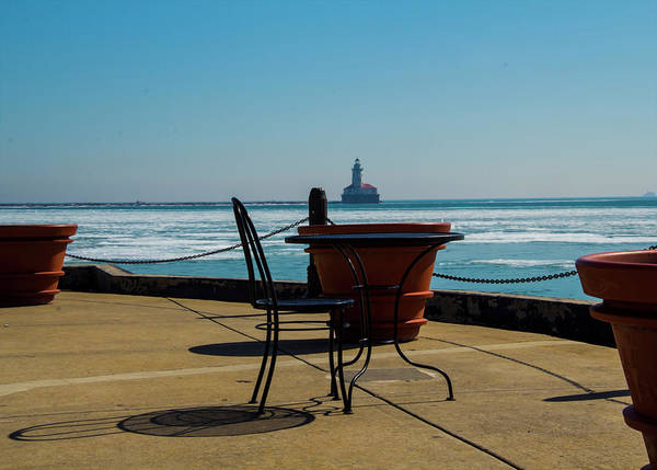 Photograph - Table For One by Stuart Manning