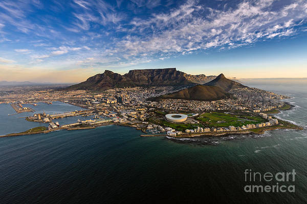 Harbor Wall Art - Photograph - Table Mountain Sunset by Alexcpt photography