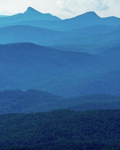 Table Rock And Hawksbill  Mountain - Linville North Carolina - Blue Ridge Parkway Art Print