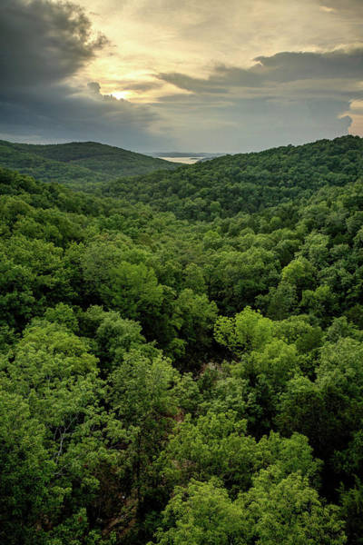 Wall Art - Photograph - Table Rock Lake Sunset At Top Of The Rock - Missouri Ozarks by Gregory Ballos